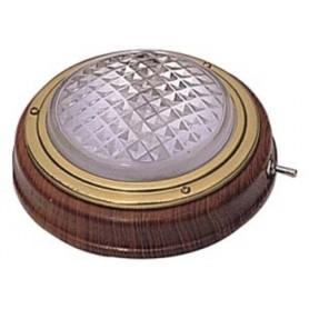 Dome light teak 12V