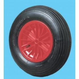 "Pneumatic wheel 4.00/8"" 25x75"