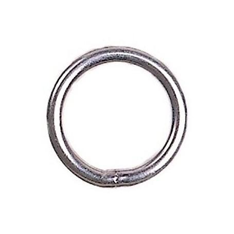 Stainless steel ring for Optimist mainsheet