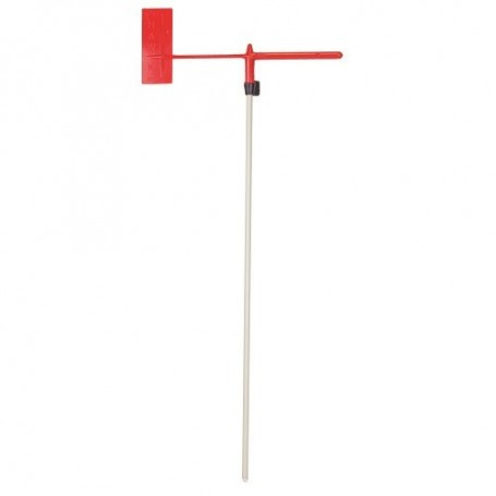 Low friction racing wind indicator