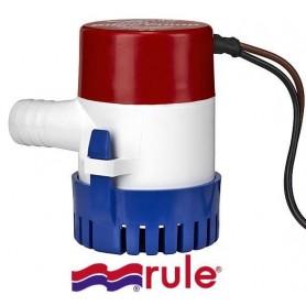 Pompa Sentina Ad Immersione Rule 12 Volt 500 Ghp 33 Lt/Min