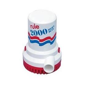 Pompa Sentina Ad Immersione Rule 12 Volt 2000 Gph 135 Lt/Min