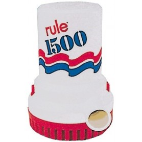 Pompa Sentina Ad Immersione Rule 24 Volt 1500 Ghp 100 Lt/Min