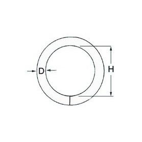 Ring Round Ø6 X 40Mm