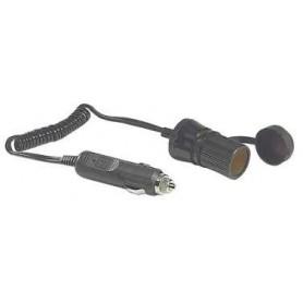 Extension Cable Cigarette Lighter Socket Single