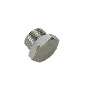 Blind Plug Threaded 1/4""