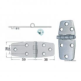 Zipper 2.5 mm