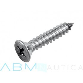 Self-tapping screw with countersunk head Ø4