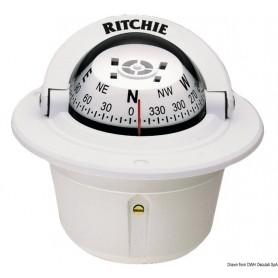 Bussola incasso Ritchie bianca