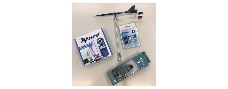 Anemometers and wind vane