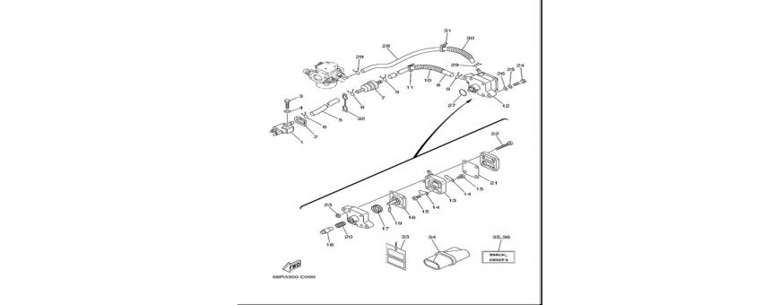 Corpo pompa benzina F6A-F6B-F8C