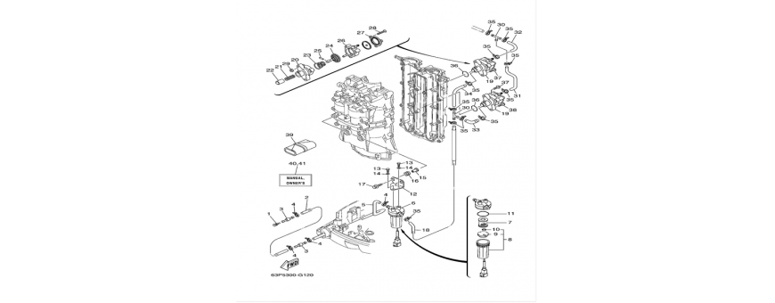 Corpo pompa benzina F150A-FL150A