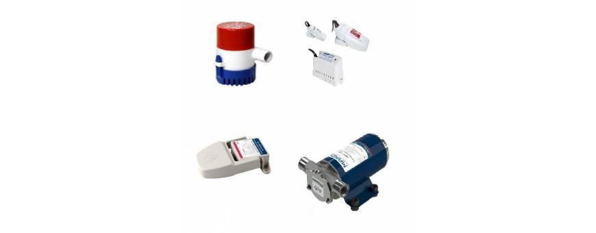 Adriamarine   bilge Pumps, water circulation and transfer liquids