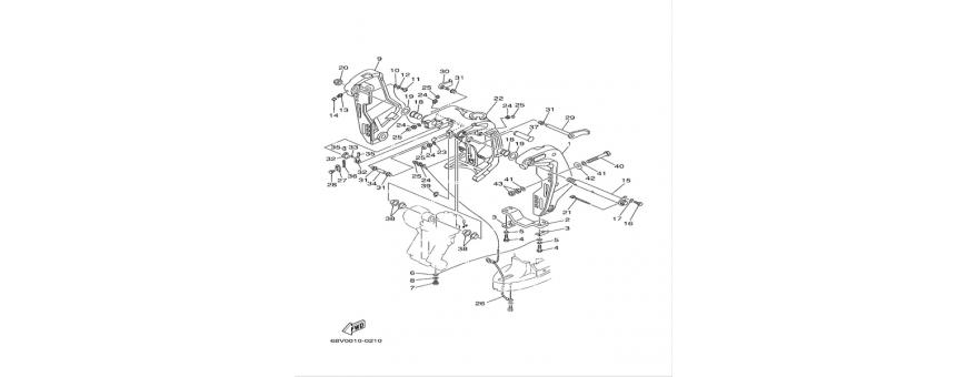 Supporto motore F115A-FL115A
