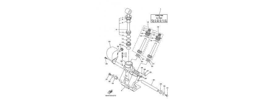 Trim F115A-FL115A