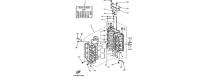 Cilindro e carter 1 150F-175D-200F