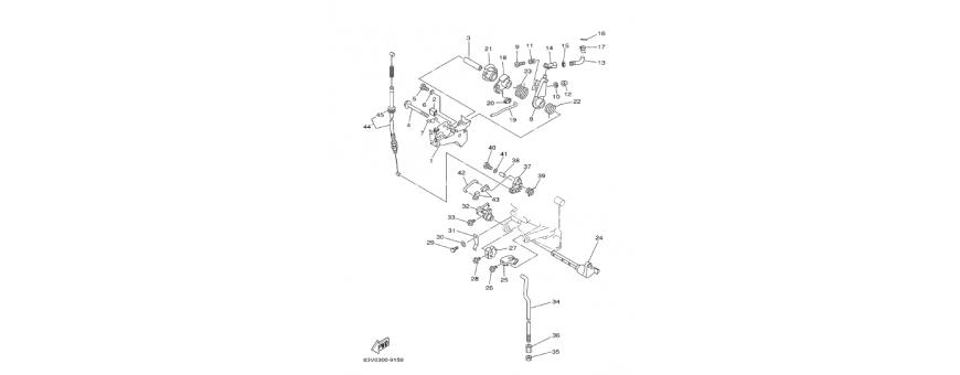 Controlli motore 9,9F-15F