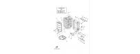 Blocco motore 1 F40D-F50F-F60C