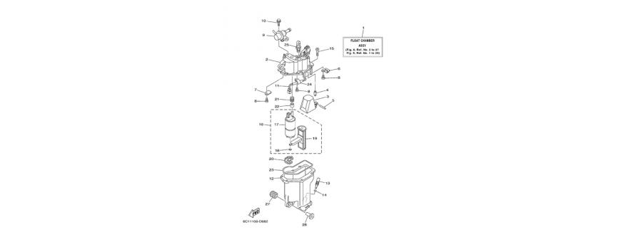 Pompa iniezione 1 F40D-F50F-F60C