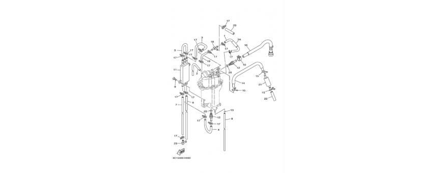 Pompa iniezione 2 F40D-F50F-F60C