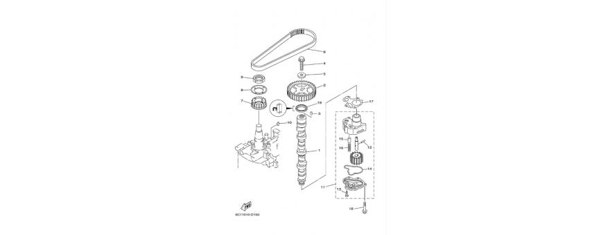 Pompa olio F40D-F50F-F60C