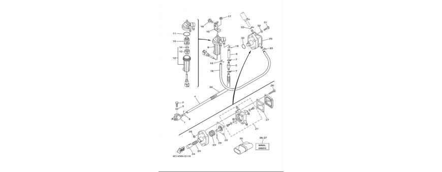 Pompa benzina F40D-F50F-F60C