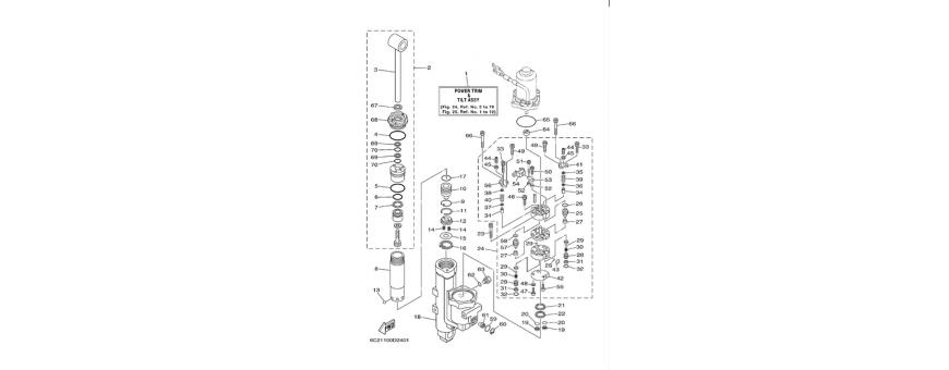 Trim F40D-F50F-F60C