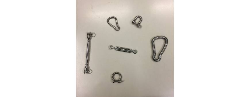 Adriamarine | Hardware nautical - Shackles, carabiners and turnbuckles